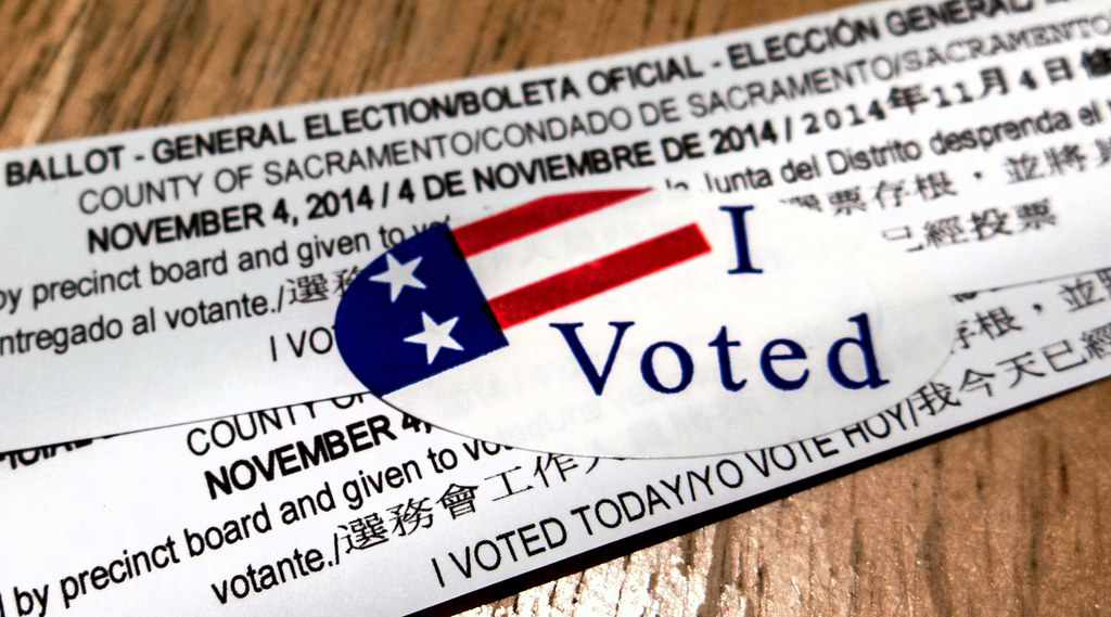 i voted today by Robert Couse-Baker, on Flickr