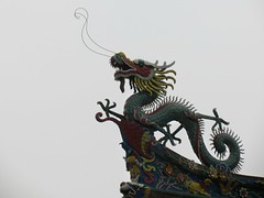 South Putuo Temple, roof detail (Linda DV) Tags: china travel geotagged asia xiamen fujian 2014 nanputuo geomapped southputuotemple lindadevolder canonpowershotsx40hs picmonkey:app=editor