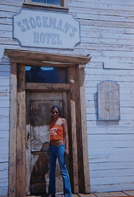 My lovely friend, photo taken at Eaves Movie Ranch, SantaFe County New Mexico USA