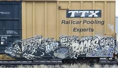 BAER (Fountain Benchin) Tags: railroad art bench graffiti traintracks tracks trains rails boxcar graff freight trainyard graffitiart baer railroadtracks fr8 benching fr8heaven