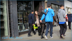 `1214 (roll the dice) Tags: uk portrait england urban brown sexy london art classic ass fashion shopping funny couple pretty hand natural pavement candid strangers streetphotography rude bum pop lovers cuddle unknown brave mad eighties caught unaware maje kingsroad londonist kensingtonchelsea sw3 classuic