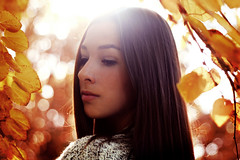 Earth and Storm (Kim Kmmerling) Tags: autumn light summer beauty female canon germany 50mm golden quote hour portraiture brunette