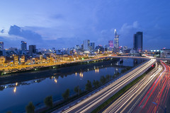 4 (fanfoto | 0982776736) Tags: bridge night canal with view riverside near chi tau ho minh calmet hu