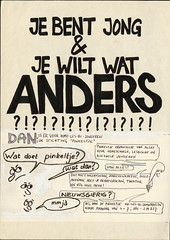 1986 Pinkeltje homojongerengroep Nijmegen (LANijmegen) Tags: pinkeltjehomojongeren nijmegen 1986 rozegeschiedenis affiche poster lhbti