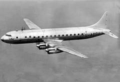 Tudor II G-AGSU, 1946 (Proplinerman) Tags: aircraft tudor airliner avro 1946 woodford propliner roychadwick gagsu avrotudor avrotudorii