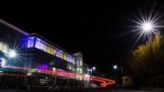 UWCB - Leicester (David Raynham) Tags: nikon nightime filbert starburst lighttrail nikkor1755mmf28 leicesterfc d7000 kingpowerstadium uwcb ultrawhitecollarboxing
