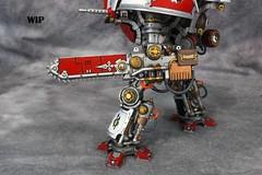 Imperial Knight House Taranis 03 (Celsork) Tags: house war celso lord walker warhammer knight 30k mendez errant taranis celsork