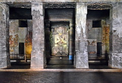 India - Maharashtra - Ajanta Caves - Cave 16 - 7 (asienman) Tags: india art buddhist maharashtra ajantacaves asienmanphotography