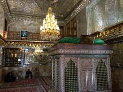 Interior Santuario de Shah Cheragh Shiraz Irn 11 (Rafael Gomez - http://micamara.es) Tags: de shrine iran interior persia shiraz  shah santuario irn cheragh