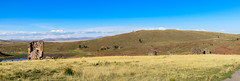 pre-Incan burial ground (kasiahalka (Kasia Halka)) Tags: road peru southamerica sillustani puno lakeumayo chullpas preincanburialground