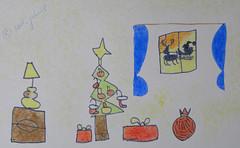 Merry Christmas from my 6yo son! (cod_gabriel) Tags: santa christmas window brad natal weihnachten reindeer navidad drawing son christmastree dessin weihnachtsmann gifts presents santaclaus ren nol weihnachtsbaum merrychristmas papainoel sleigh dibujo filho fiu tegning desenho disegno weihnacht hijo nightstand fils prenol alberodinatale zeichnung nightlamp babbonatale tekening sohn  figlio  teckning rysunek sapindenol rvoredenatal santassleigh rajz papnoel mikuls rboldenavidad crciun piirustus sidelamp sanie   desen menggambar pohonnatal mocrciun fereastr crciunfericit  pomdecrciun trendopapainoel  braddecrciun  noptier veioz  trineodesanta mikulsszn sanktpferdeschlitten