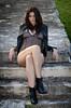 DSC_4817 (TimMurphyPhotography) Tags: girl leather model badass jacket bikini brunette cheyenne bikinimodel