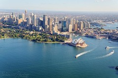 Sydney Opera House from Air