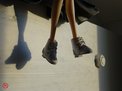 ~286~ (Merli-chan) Tags: light shadow white cute photography dance outfit photographie lumire danse ombre mysterious pullip blanc prenol mignonne mystrieux