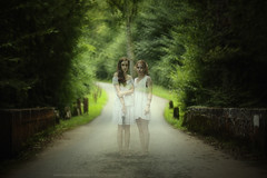 """""""White Ladies..."""" (remyperthuisot) Tags: white beauty dress tales magic ghost spirits dreams legend myth mystic gilrs"""
