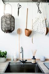 Utility Sink & Tool Bar (Heath & the B.L.T. boys) Tags: ikea wire basket sink laundry shelves hooks