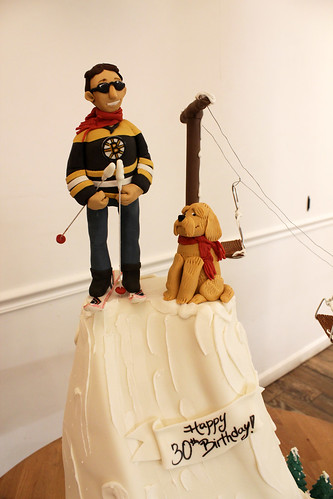 Ski Lift Figurine