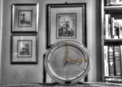 The Letter 'L' - L at 3:00 (zendt66) Tags: art clock photo nikon assignment letter pro theme l artdeco alphabet weekly deco challenge selectivecolor d90 theletterl photomatix zendt66 52weeks2015