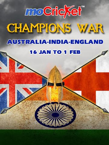 Australia India England Series
