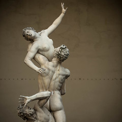 The Rape of the Sabine Women. (hansster69) Tags: italy statue flickr italia tuscany firenze toscana toscane itali loggiadeilanzi