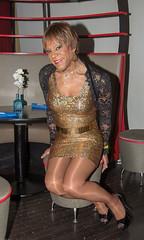 Knees Together! (kaceycd) Tags: stockings pumps highheels lace metallic s tgirl jacket stilettoheels pantyhose crossdress spandex shrug lycra tg stilettos nylons garterbelt minidress wetlook suspenderbelt fullyfashionedstockings sexypumps opentoepumps platformpumps stilettopumps peeptoepumps rhtstockings stretchlace
