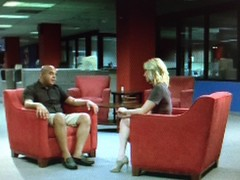 Channel 3 Karen Brown discussing Shanesha Taylor (karenbrowntv) Tags:
