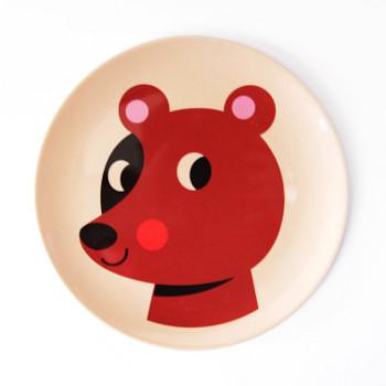 Assiette bear