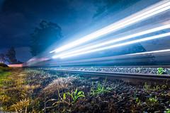 De Passagem (William Molina Fotografia) Tags: railroad train de track railway william estrada locomotive paulo fotografia trem so molina ferro ferrovia vago locomotiva ferroviria
