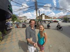 Photo de 14h - Devant le marché (Cambodge) - 29.12.2014