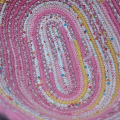 "First up at the sewing machine today: this cheery combination of fabrics is being stitched into a Large Tote Basket. I love gingham and polka dots, so working on this basket is the perfect way to start my Sunday morning! • <a style=""font-size:0.8em;"" href=""http://www.flickr.com/photos/54958436@N05/16121736288/"" target=""_blank"">View on Flickr</a>"