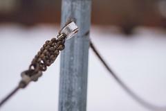 IMG_5059 (Chris Meium Photography) Tags: blue winter snow brick minnesota canon jack photography graffiti bokeh lock cities stpaul twin chain tc flattire twincities van mn 135mm totallyrad 50d chrismeium replichrome