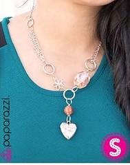 5th Avenue Brown Necklace K2 P2320-5