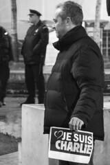 #jesuischarlie gathering in Belgrade - 2 (chat des Balkans) Tags: support serbia demonstration memory gathering belgrade beograd manifestation memoire srbija republicsquare soutien charliehebdo placedelarepublique serbie rassemblement trgrepublike jesuischarlie