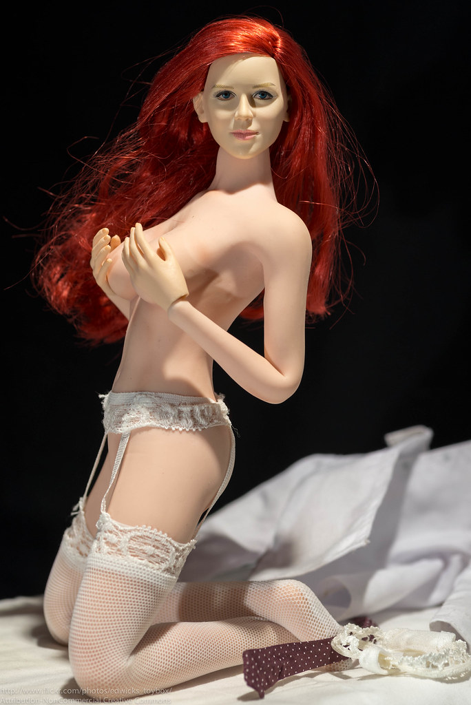 That interrupt Garter belt red head very