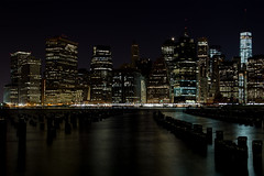 Manhattan Night (Bob90901) Tags: city nyc newyorkcity longexposure november autumn newyork skyline architecture night canon buildings waterfront outdoor manhattan financialdistrict eastriver 6d 2015 brooklynbridgepark canonef24105mmf4lisusm rpg90901