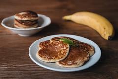 Banana pancakes (Filip Hostynek) Tags: food banana pancake foodart
