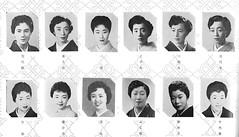 Azuma Odori 1960 031 (cdowney086) Tags: azumaodori shinbashi vintage 1960s   geiko geisha   miyokoma kikuya kazue konomi mihomaru miyoju kikuhiro yoshimaru fujiya       takeya      yasuko  tokyo  chiyoy