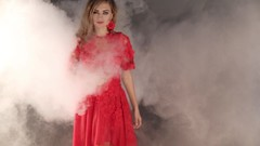Fashionable Woman In Smoke (denyshrishyn) Tags: portrait woman sexy girl beautiful beauty face fashion fog mystery hair model glamour pretty mood dress skin smoke young vogue figure attractive mysterious elegant elegance