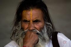 Thinking hermit (Arijit_Roy) Tags: saint sage thoughts thinking hermit