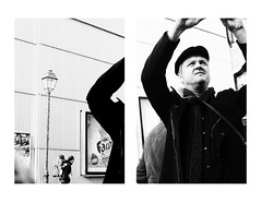 .162: Paris (Daniel Ivn) Tags: street winter portrait white paris france blancoynegro blanco blackwhite calle diptych europa europe photographer geometry retrato candid meta streetphotography highcontrast streetportrait streetlife invierno francia pars underpressure blackwhitephotography blackwhitephoto geometra thedecisivemoment altocontraste fotografadecalle retratocallejero danielivan danielivn retratodecalle