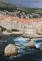 Old City of Dubrovnik (Wild Chroma) Tags: world city heritage skyline site croatia cliffs unesco worldheritagesite walls dubrovnik