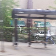 Uphill (michael.veltman) Tags: from chicago blur reflection illinois cab figure layers a