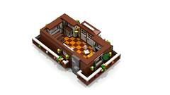 Alpine Chalet - 1st floor (1) (Darth Varader) Tags: lego alpine chalet baita