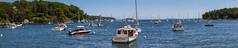 Rockport Harbor Masts (Me in ME) Tags: panorama harbor maine rockport lightroom6