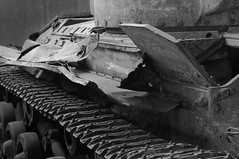 Well Used Tank (Mike_Rocha) Tags: metal rust war tank ottawa tracks canadian worn musem