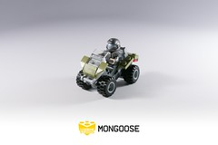 Lego Halo 3 Mongoose (BrickTechStudios) Tags: 3 green lego olive halo mongoose unsc