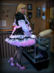 Boutique maid (jensatin4242) Tags: sissy transvestite maid crossdresser petticoat sissymaid jensatin