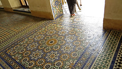 Bahia Palace Floor (macloo) Tags: geometric architecture tile design morocco moorish marrakech decor zellij bahiapalace
