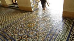 Bahia Palace Floor (macloo) Tags: geometric architecture tile design morocco moorish marrakech decor zellij bahiapalace
