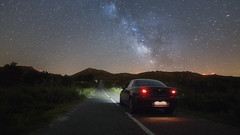 Road to the Milkyway [Explored] (JLscape) Tags: road nightphotography travel sky portugal car skyline night canon dark stars landscape nightscape outdoor tokina astrophotography serene nightsky fullframe alfaromeo montains highiso milkyway minho starscape landscapephotography cuoresportivo montalegre outdoorphotography landscapephoto canon6d tokinaaf1116mmf28 atx116prodx tokinaaf1116f28 astroscape milkywayphotography